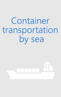 Container transportation by sea